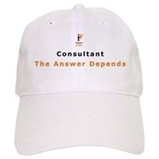 IIF Baseball Cap, Consultant, The Answer Depends