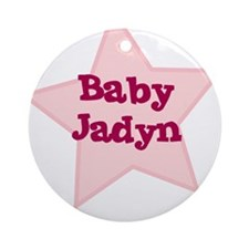Baby Jadyn Ornament (Round)