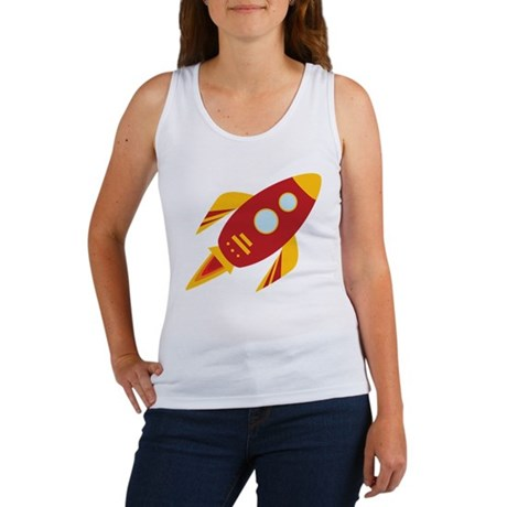 Space Rocket Women's Tank Top