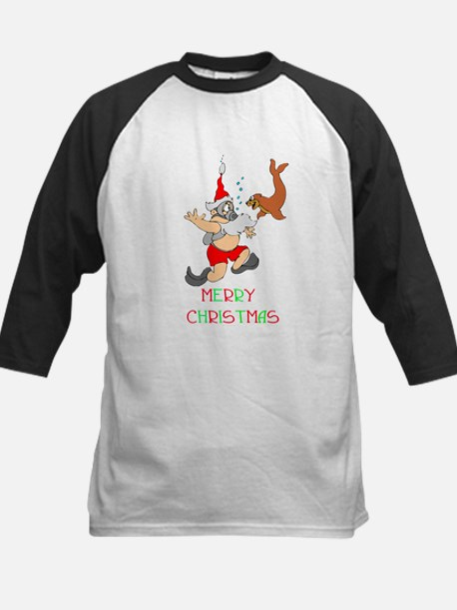 Santa Kids Baseball Jersey