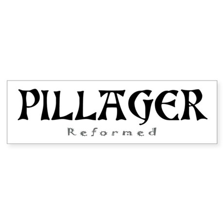 pillager mugs, shirts, gifts Bumper Sticker