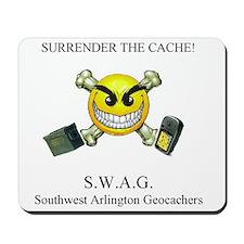 SURRENDER THE CACHE Mousepad