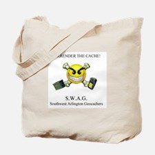 SURRENDER THE CACHE Tote Bag