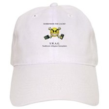 SURRENDER THE CACHE Baseball Cap