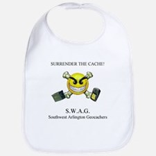 SURRENDER THE CACHE Bib