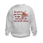 Two-Stroke Roses Kids Sweatshirt