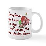 Two-Stroke Roses Mug