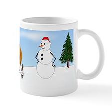 Apricot Poodle Holiday Mug