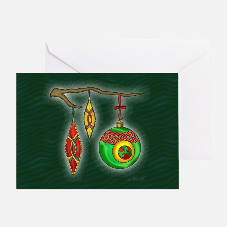 Celtic Ornaments Greeting Card
