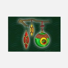 Celtic Ornaments Rectangle Magnet