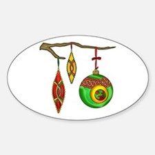 Celtic Ornaments Oval Decal