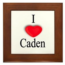 Caden Framed Tile