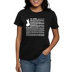 Women's Dark T-Shirt Learn Finnish