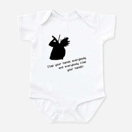 Nerds Clap Your Hands Infant Bodysuit