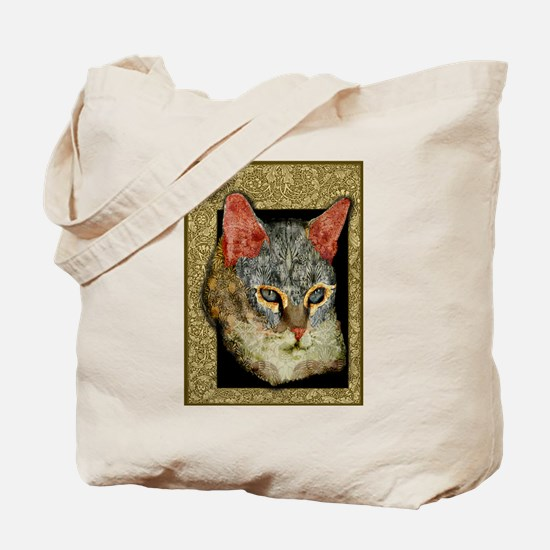 Cat Collages Tote Bag