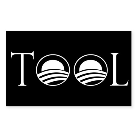 Obama is a Tool Rectangle Sticker