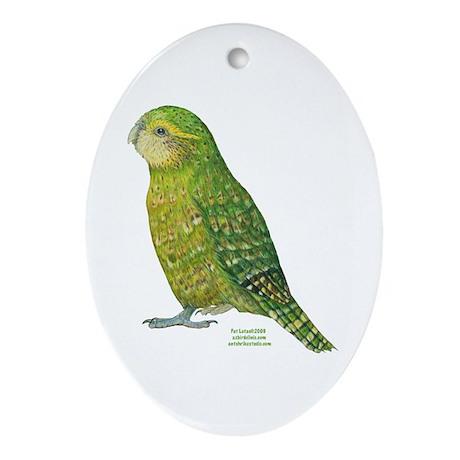 KakapoArizona Oval Ornament