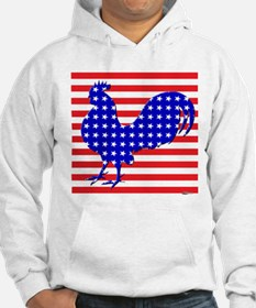 Stars And Stripes Rooster Hoodie