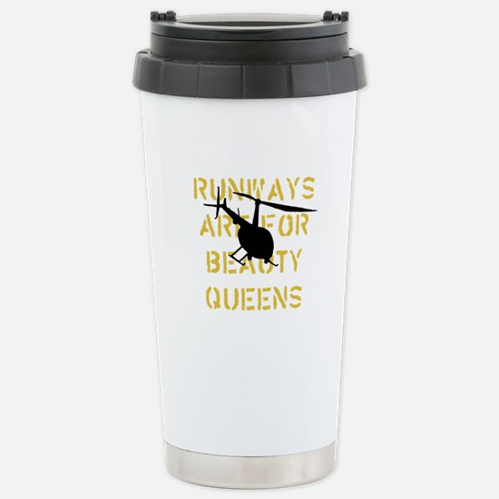 Runways Are For Beauty Queens Stainless Steel Trav