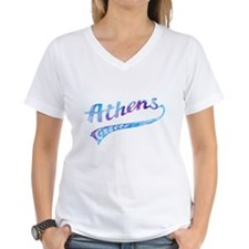 Women's V-Neck Athens T-Shirt