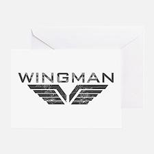 Wingman Greeting Card