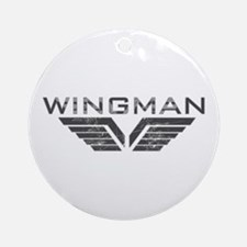 Wingman Ornament (Round)