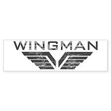 Wingman Bumper Car Sticker