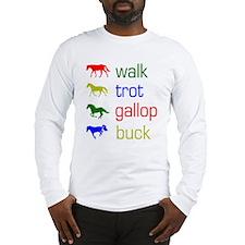 Funny Pony Long Sleeve T-Shirt