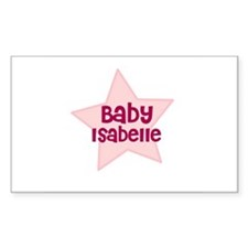 Baby Isabelle Rectangle Decal