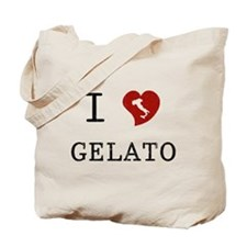 I Love Gelato Tote Bag