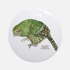 Kakapo Ornament (Round)