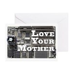 Love Your Mother (board) Greeting Cards (Pk of 10)