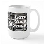 Love Your Mother (board) Large Mug