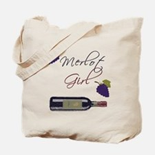Merlot Girl Tote Bag