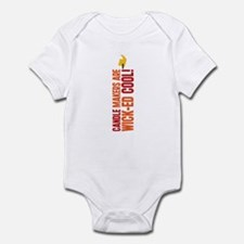 Candle Makers Are Wick-ed Cool Infant Bodysuit