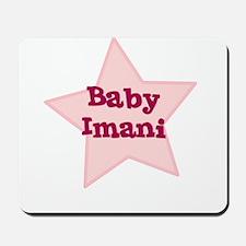 Baby Imani Mousepad