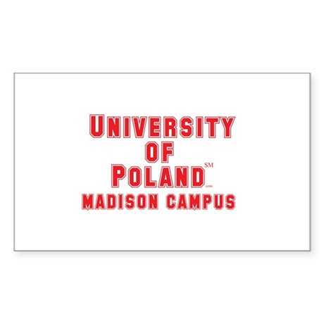 University of Poland - Madison Campus Sticker (Rec