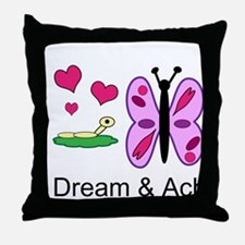 Funny Aip designs Throw Pillow