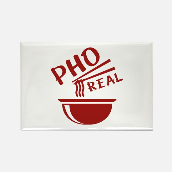 Pho Real Rectangle Magnet