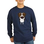 Big Nose Aussie Long Sleeve Dark T-Shirt