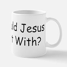Cute Who would jesus bomb Mug
