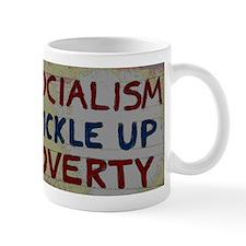 Cute Trickle up poverty Mug