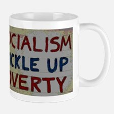 Cute Trickle up poverty Mug