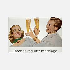 Beer Fridge Rectangle Magnet