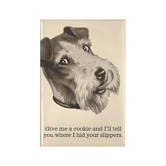 Funny Dog Fridge Rectangle Magnet
