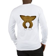 Big Nose Corgi Long Sleeve T-Shirt