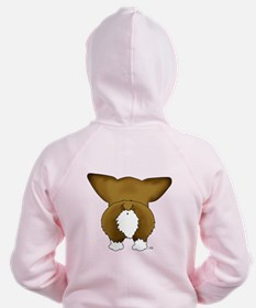 Big Nose Corgi Zipped Hoody