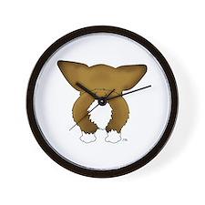 Big Butt Corgi Wall Clock