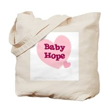 Baby Hope Tote Bag