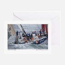 Volvo Ocean Race Greeting Card